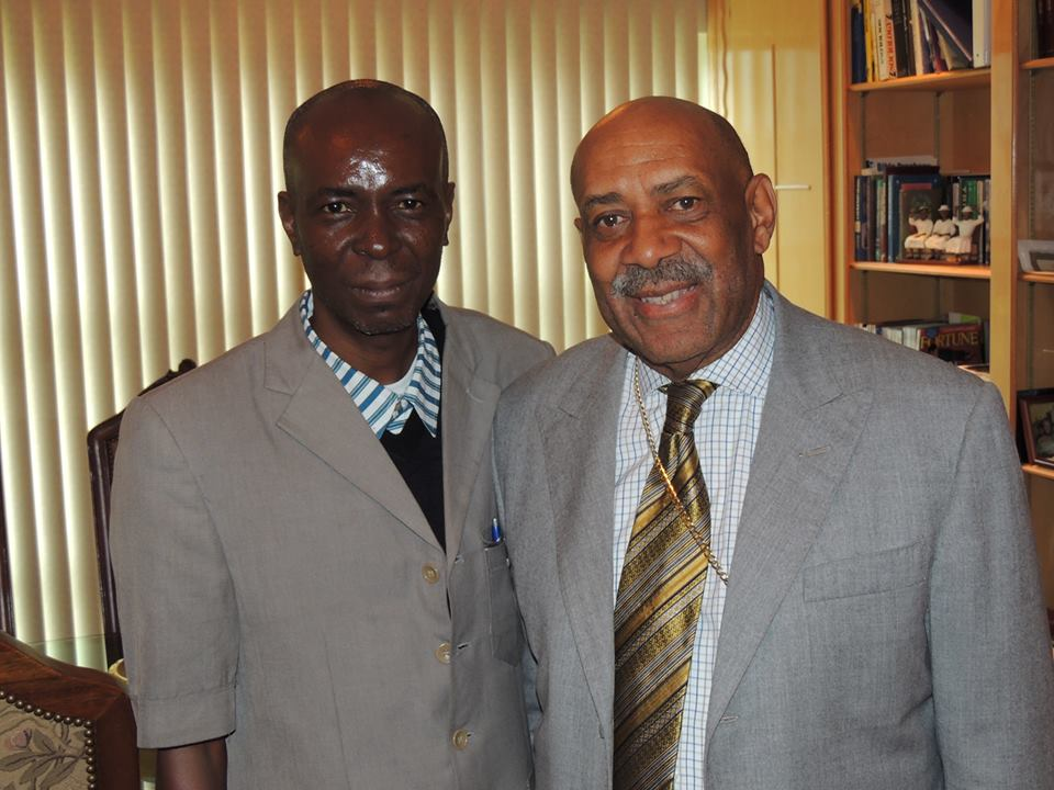 Apostle Clement With Bishop Jerry L Maynard